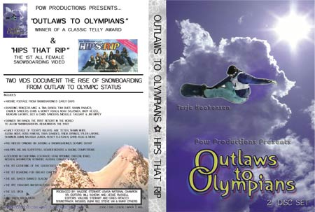 OUTLAWS TO OLYMPIANS - Front Cover